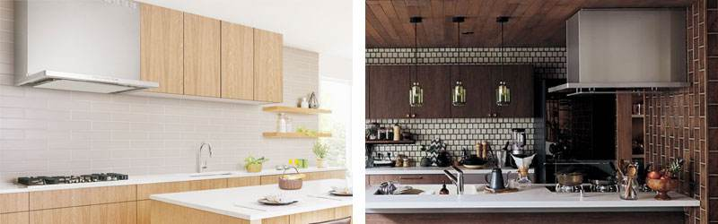 レンジフードのあるキッチンイメージ