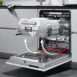コンフォートリフト AEG 食器洗い機