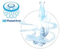 3Dプラネットアーム洗浄 パナソニック 食器洗い機