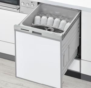 幅45cm スライド型 リンナイ ビルトイン 食器洗い機・食洗機