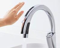 LIXILの機能1:浄水機能付き水栓
