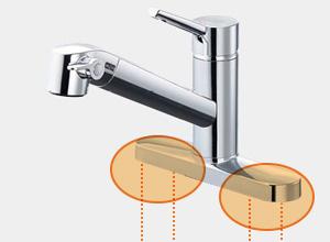 LIXILのキッチン水栓タイプ2: