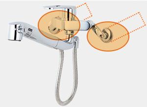 LIXILのキッチン水栓タイプ3: