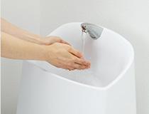 GGシリーズ 大きな手洗い形状