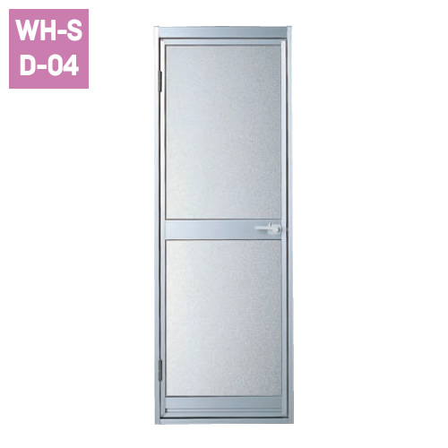 開き戸(W700)[シルバー]